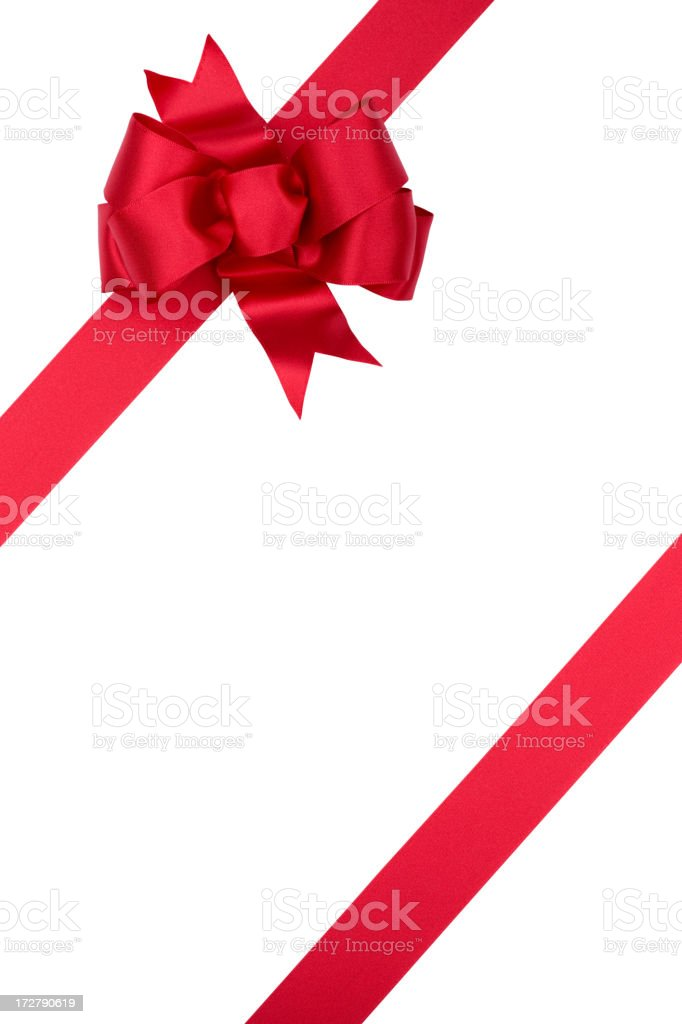 Gift Bow (WITH CLIPPING PATH! (XXL) royalty-free stock photo