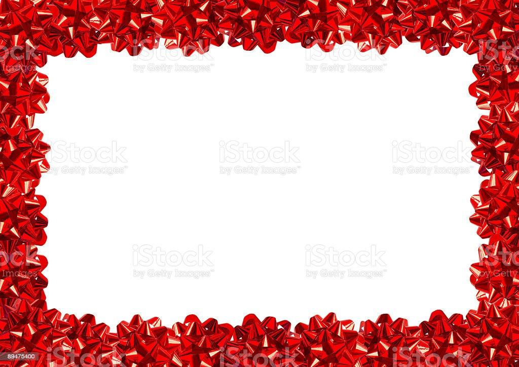 Gift Bows Border (+clipping path, XXL) stock photo