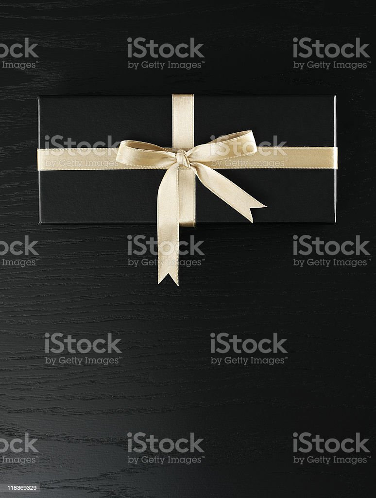Gift box stock photo