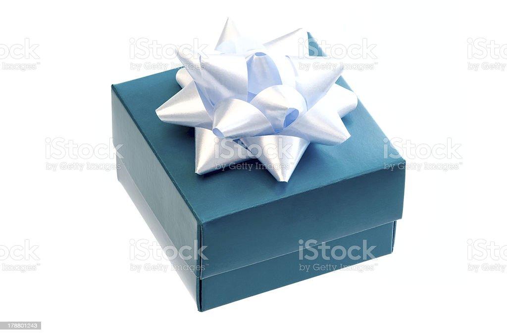 Gift box. royalty-free stock photo