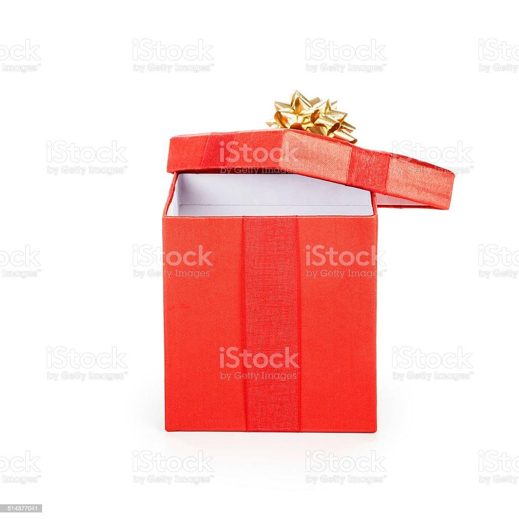 Gift box stock photo