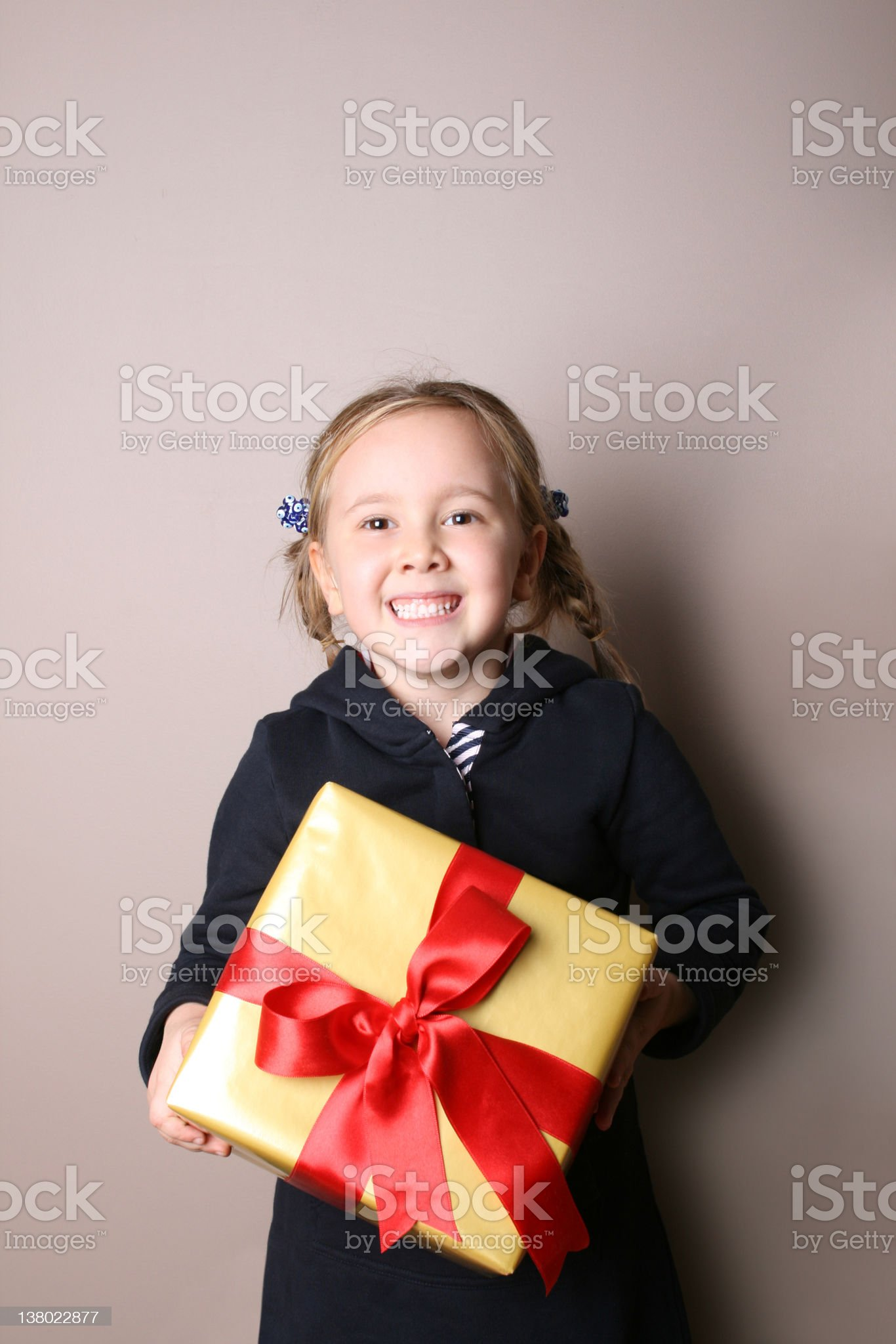 Gift Box Suprise royalty-free stock photo