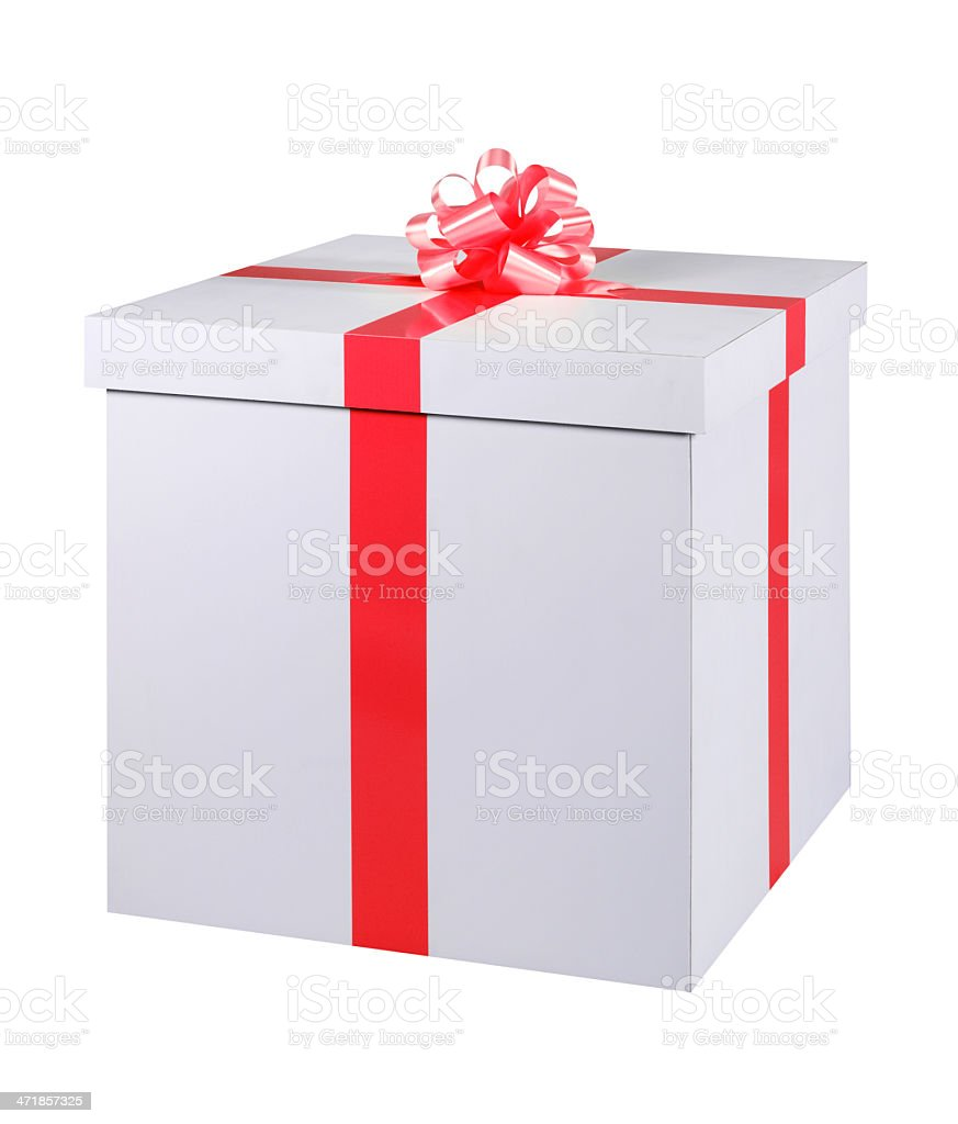Gift Box+Clipping Path (Click for more) royalty-free stock photo