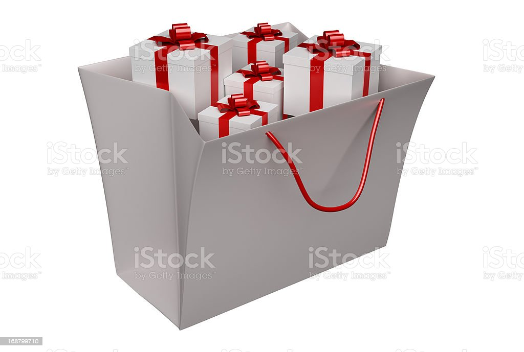 Gift Boxes Concepts royalty-free stock photo