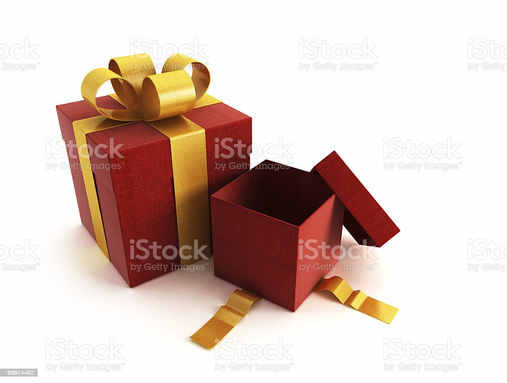 gift boxes vector art illustration
