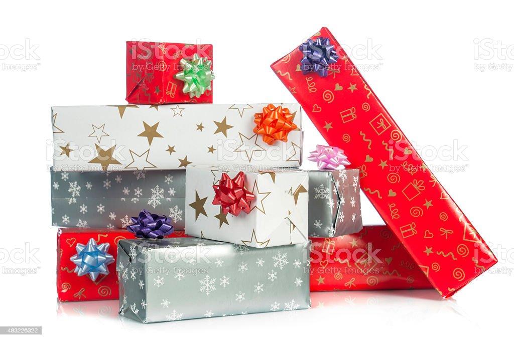Gift Boxes, presents stock photo