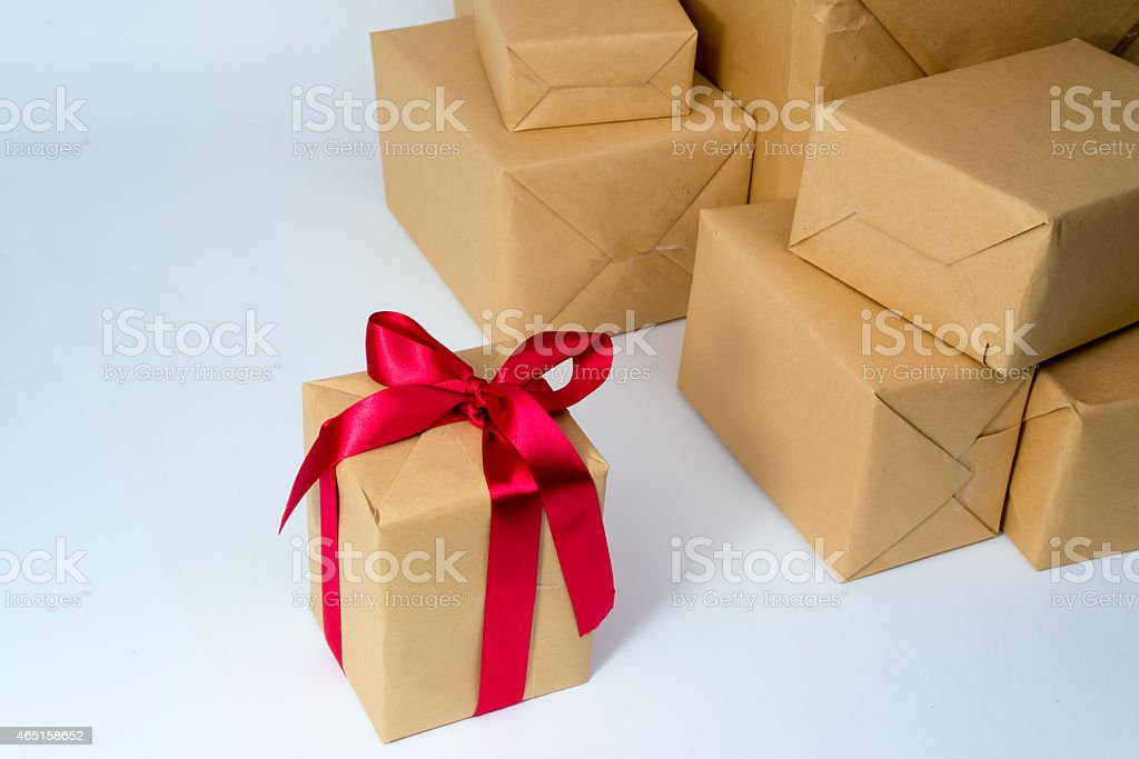 Prezent boxs zbiór zdjęć royalty-free