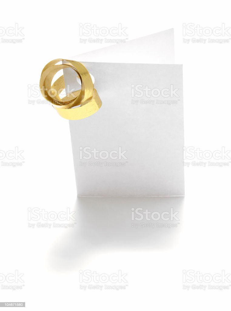 Gift Card royalty-free stock photo