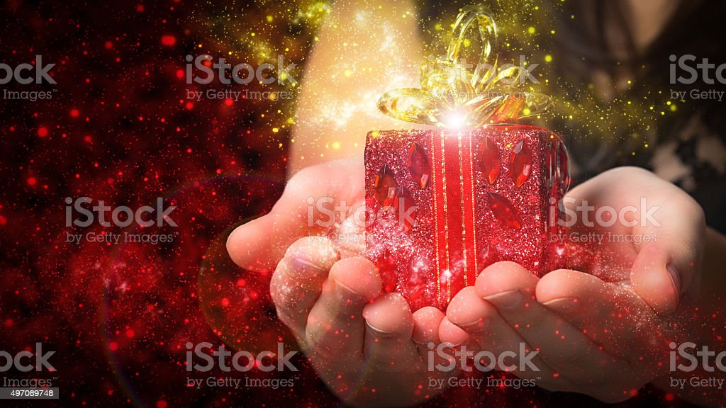 gift Christmas stock photo