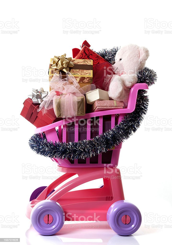 gift container stock photo