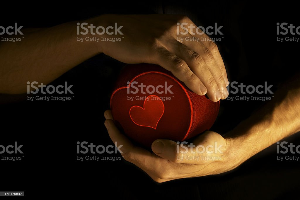 Gift for beloved - 2 royalty-free stock photo