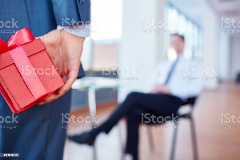 Gift for boss stock photo