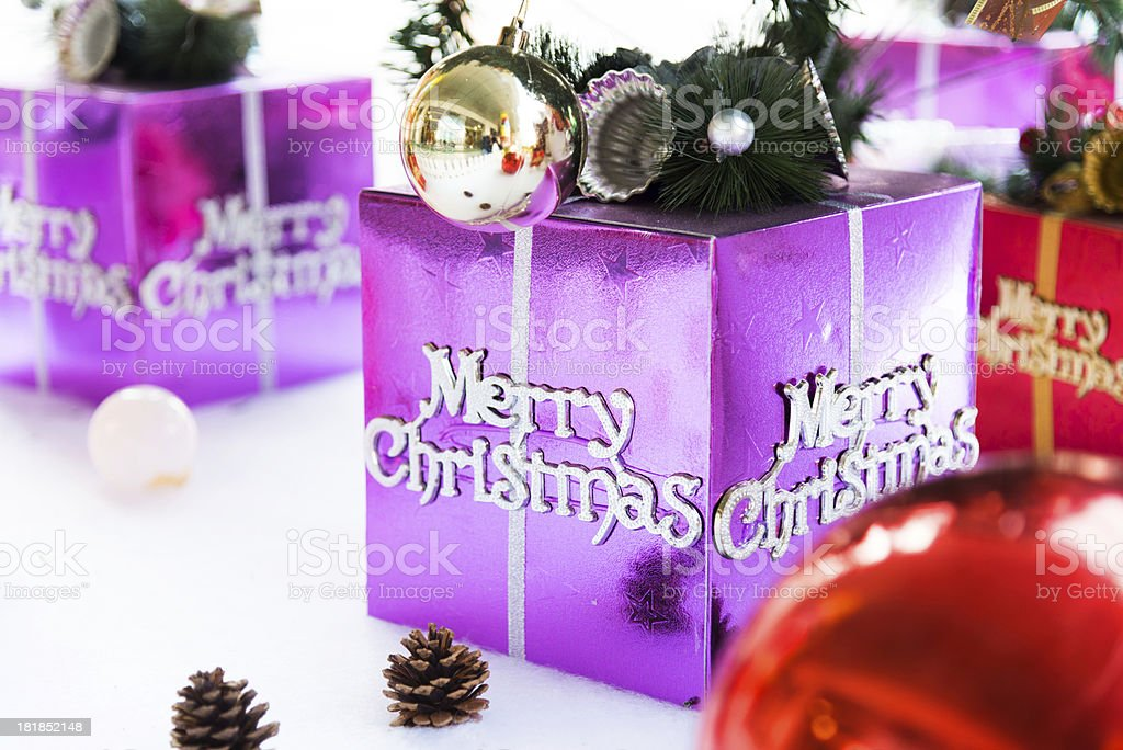 gift for christmas royalty-free stock photo