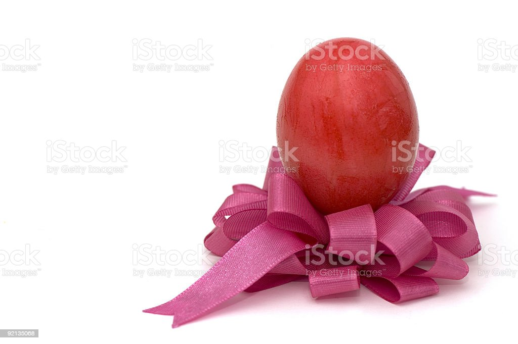 Gift For Easter royalty-free stock photo