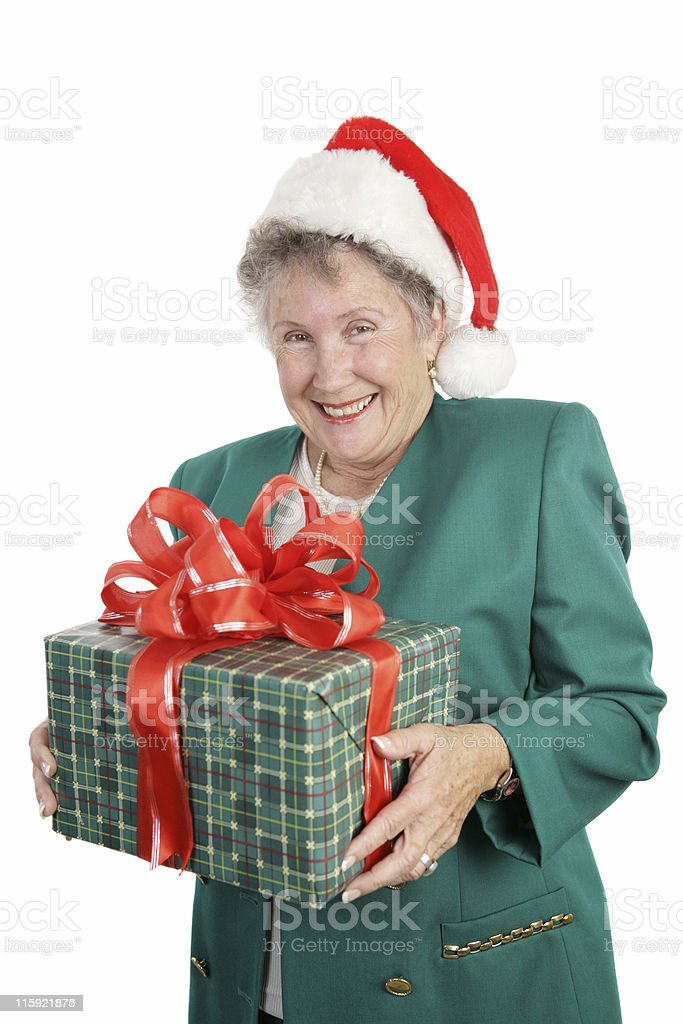 Gift For Grandmother stock photo