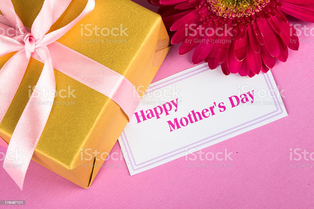 Gift for Mother's Day royalty-free stock photo