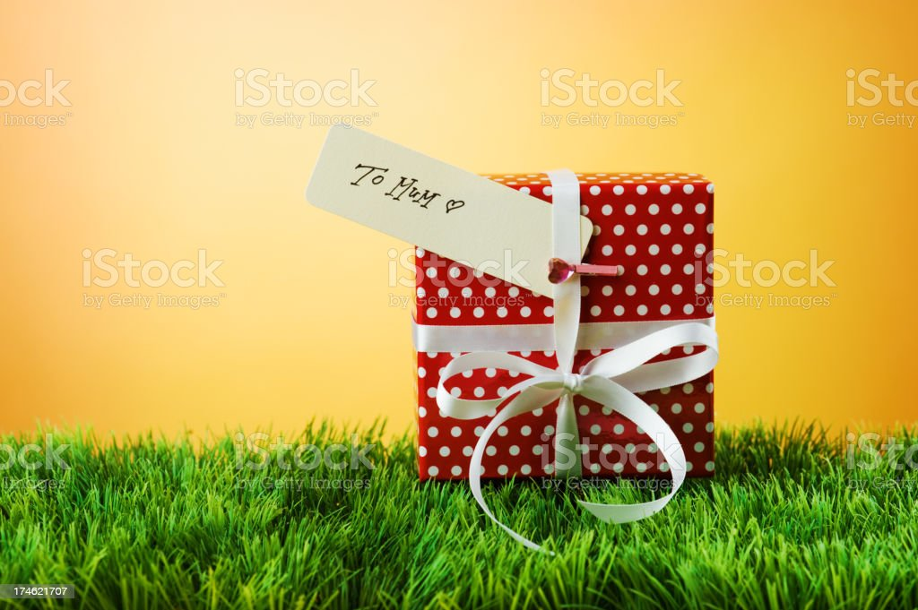 Gift for mum royalty-free stock photo