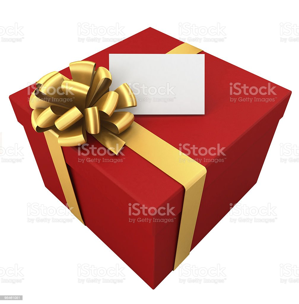 Gift for... royalty-free stock photo
