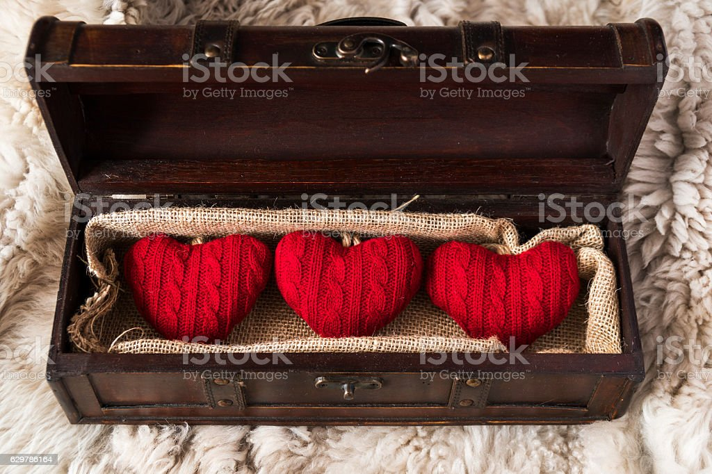 gift for valentine's day stock photo