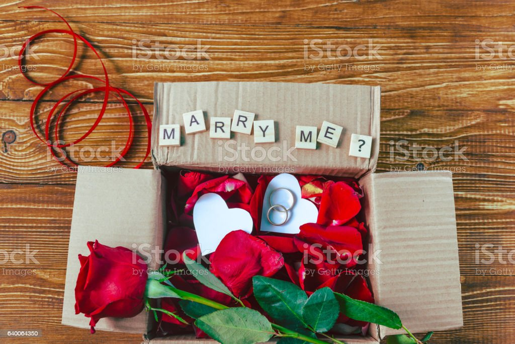 gift for Valentines day stock photo