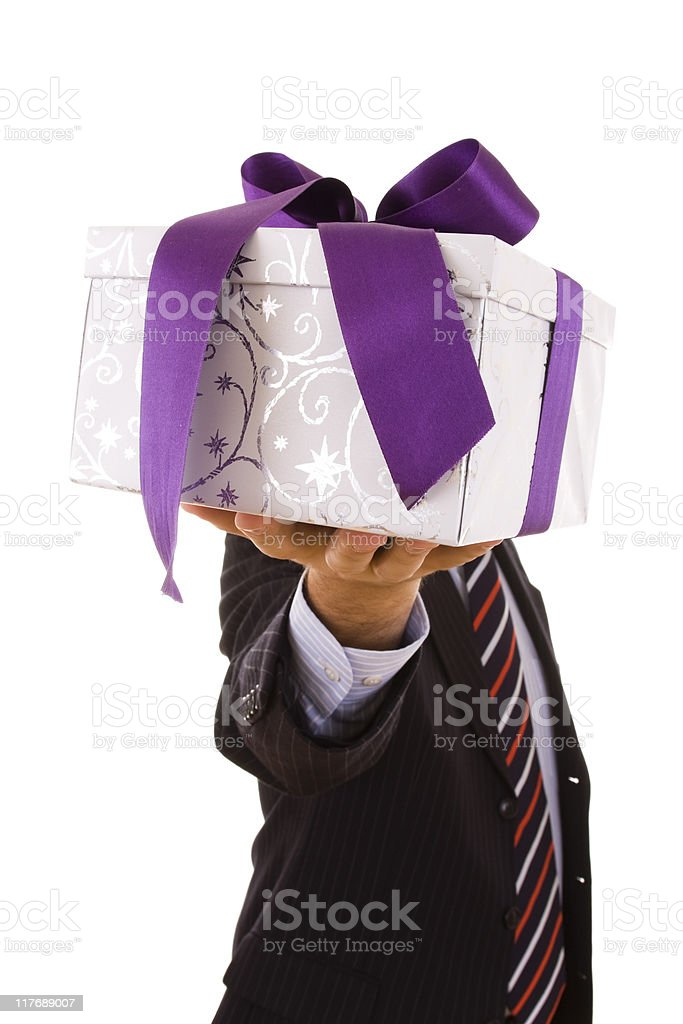 gift for you royalty-free stock photo