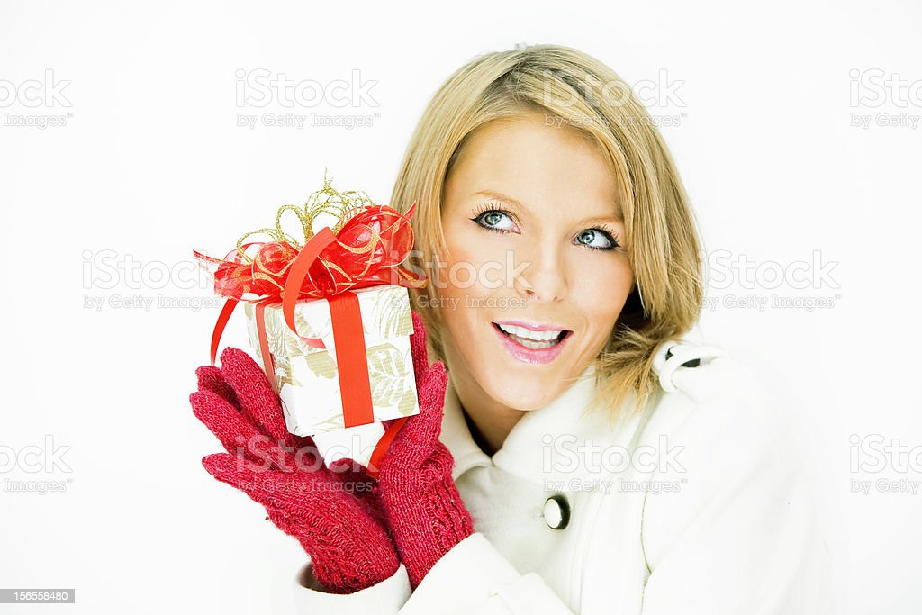 Gift for you! royalty-free stock photo