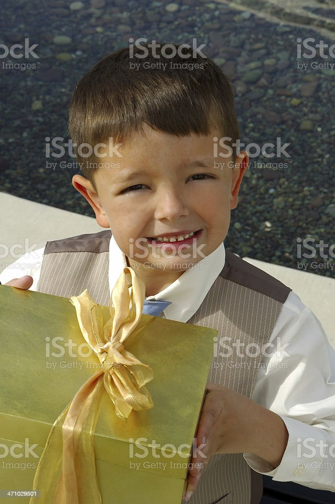 Gift for You!! royalty-free stock photo