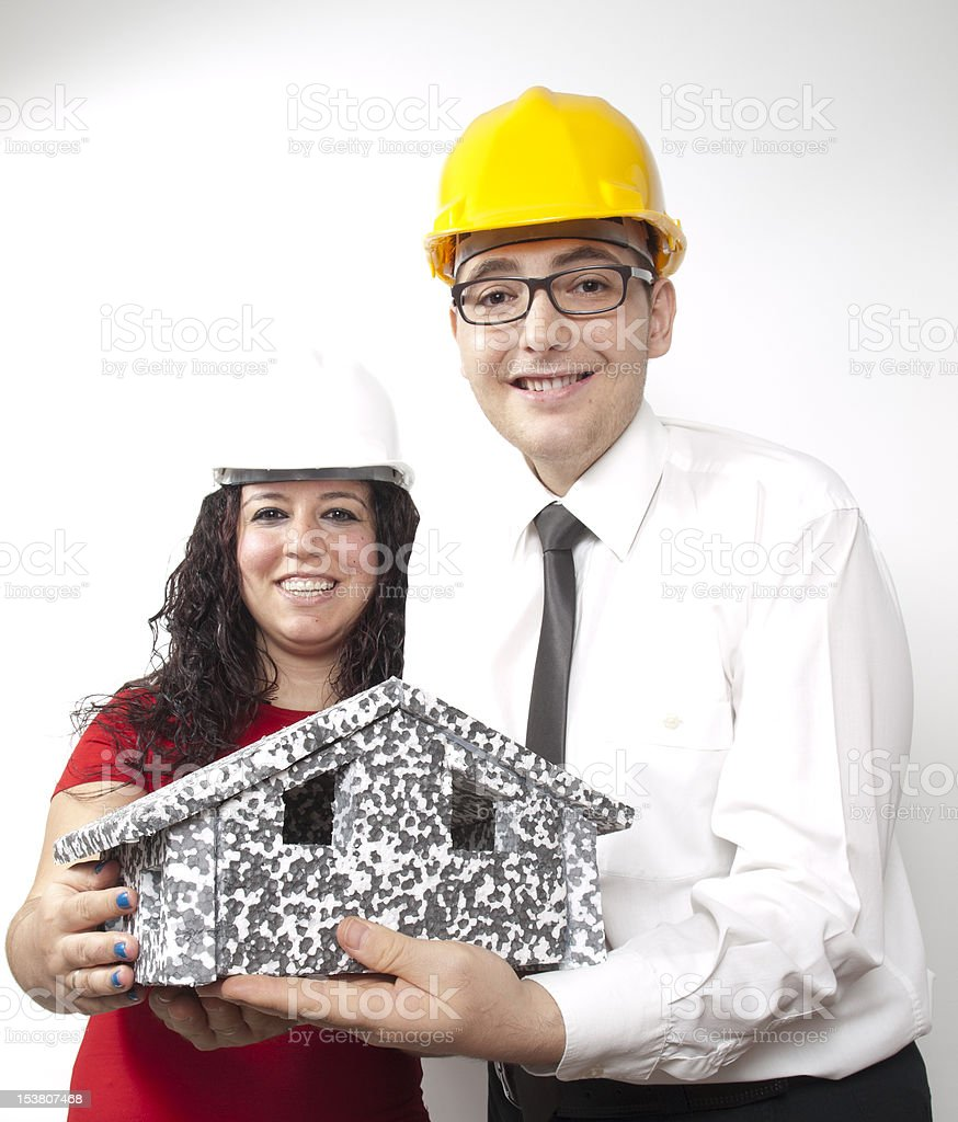 Gift From Civil Engineer And Architect royalty-free stock photo