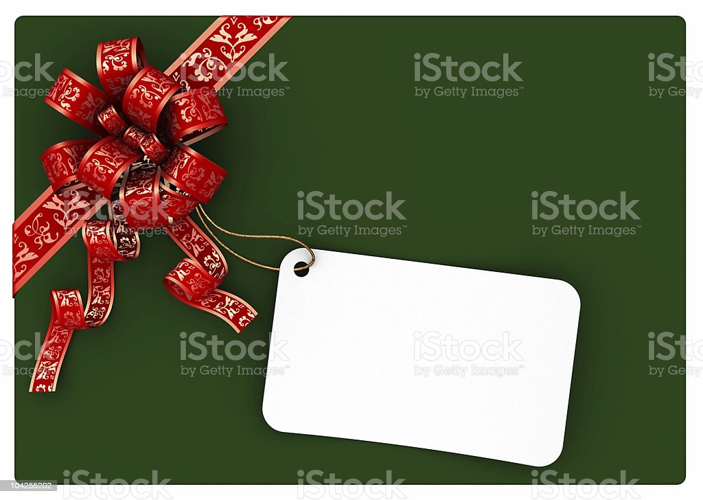 gift letter royalty-free stock photo