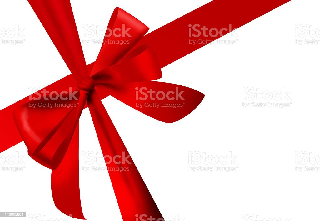 lazo de regalo royalty-free stock photo