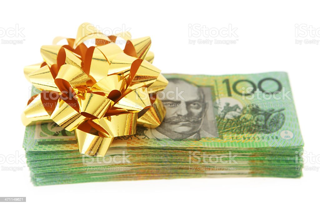 Gift Money royalty-free stock photo