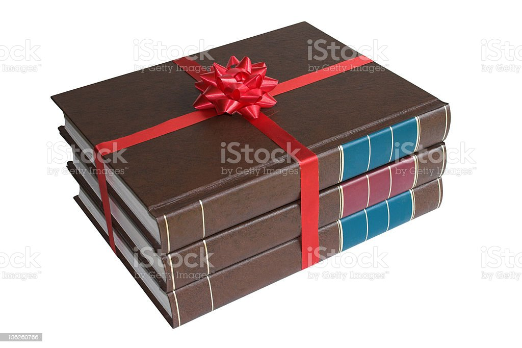 Gift of books stock photo