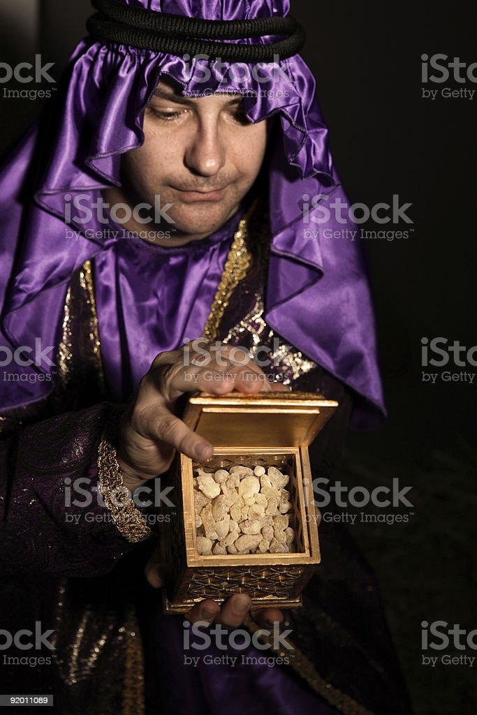 Gift of Frankincense royalty-free stock photo