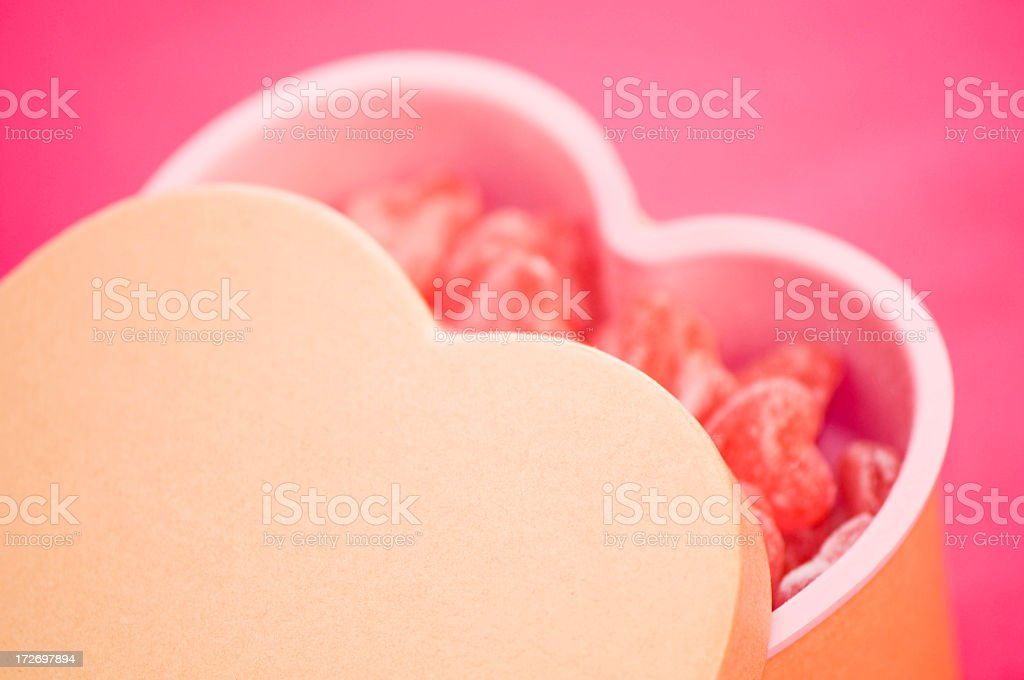 Gift of love for Valentine royalty-free stock photo