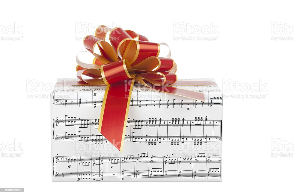 Gift of Music royalty-free stock photo