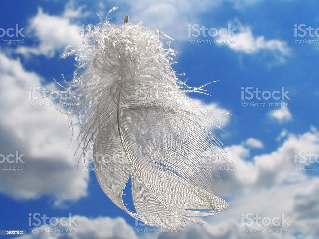 Gift of the Angel stock photo