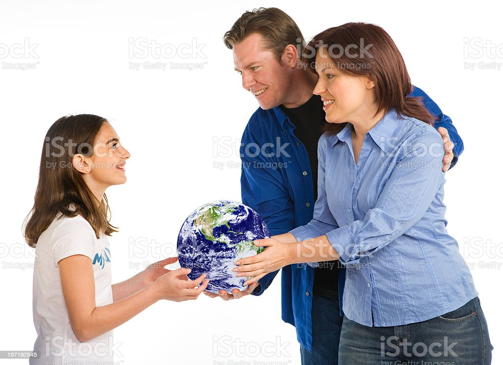 Gift of the future royalty-free stock photo