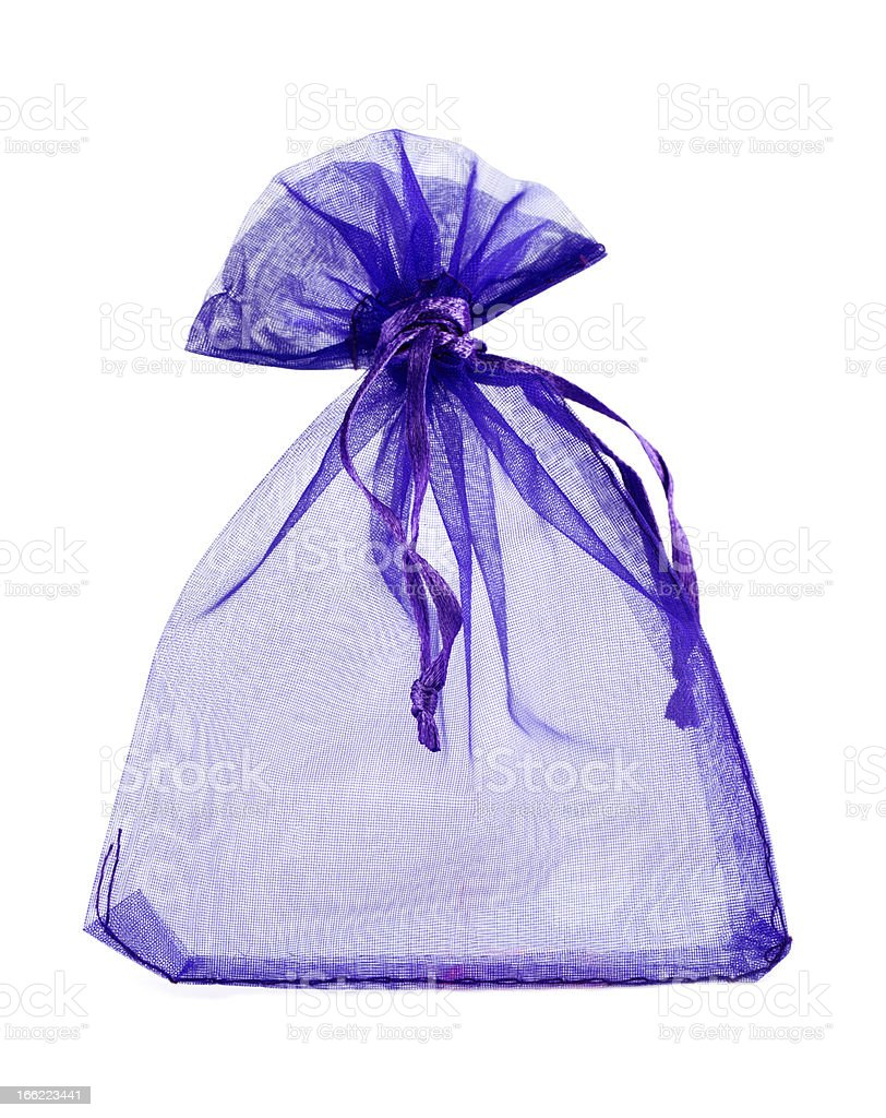 Gift pouch royalty-free stock photo