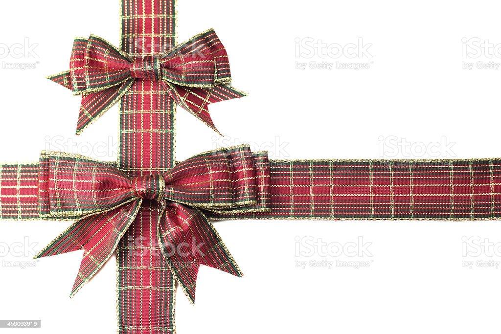 Gift ribbon stock photo