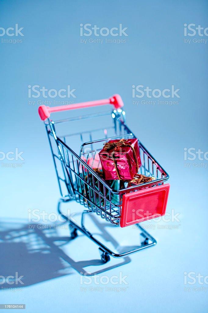 Gift Shopping royalty-free stock photo