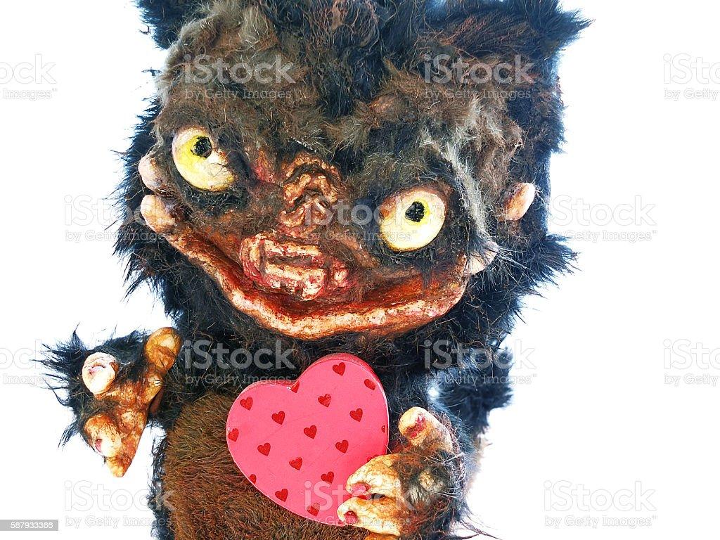 gift, souvenir, dolls animal teddy monster stock photo
