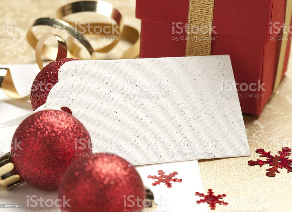 Gift Tag royalty-free stock photo