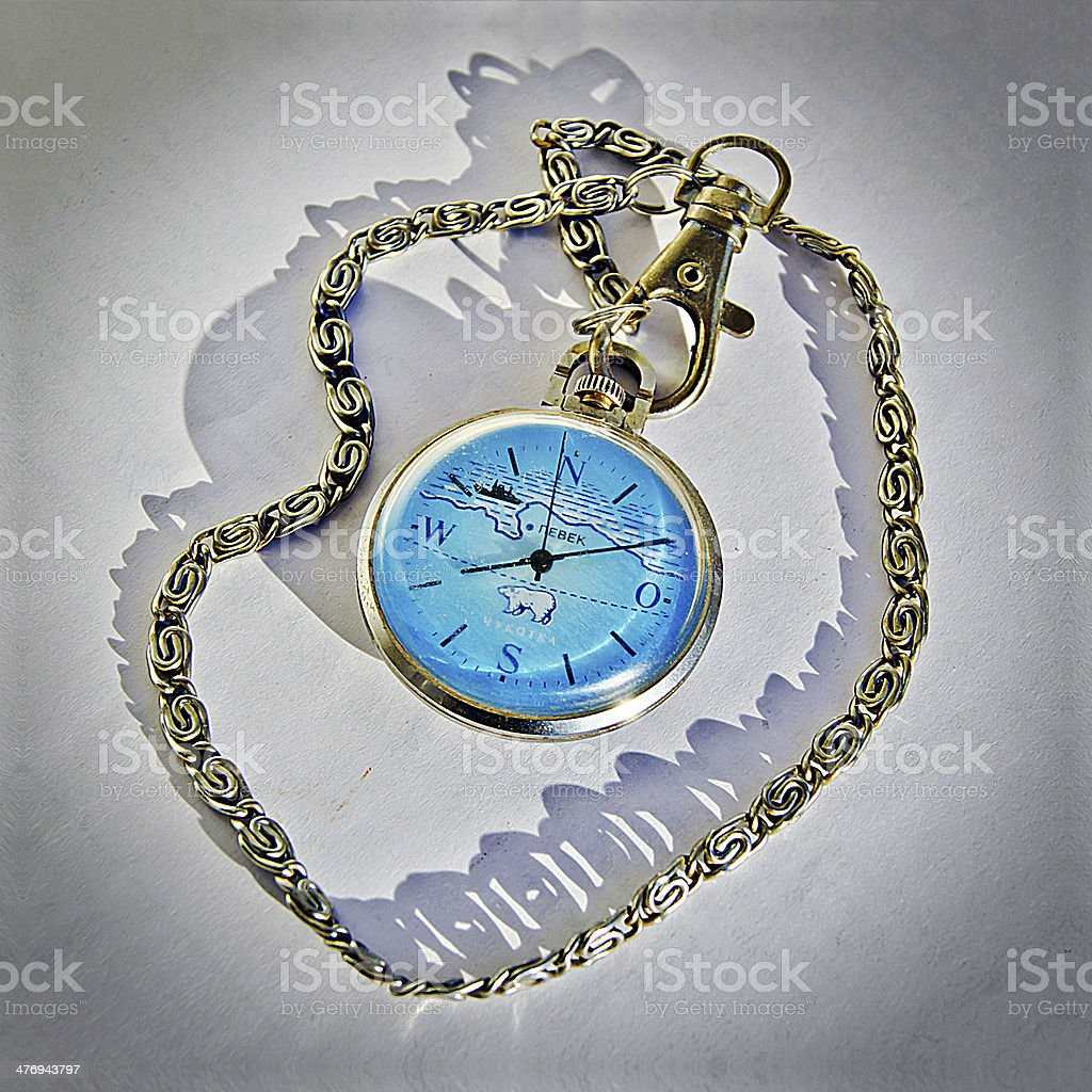 Gift watch. royalty-free stock photo