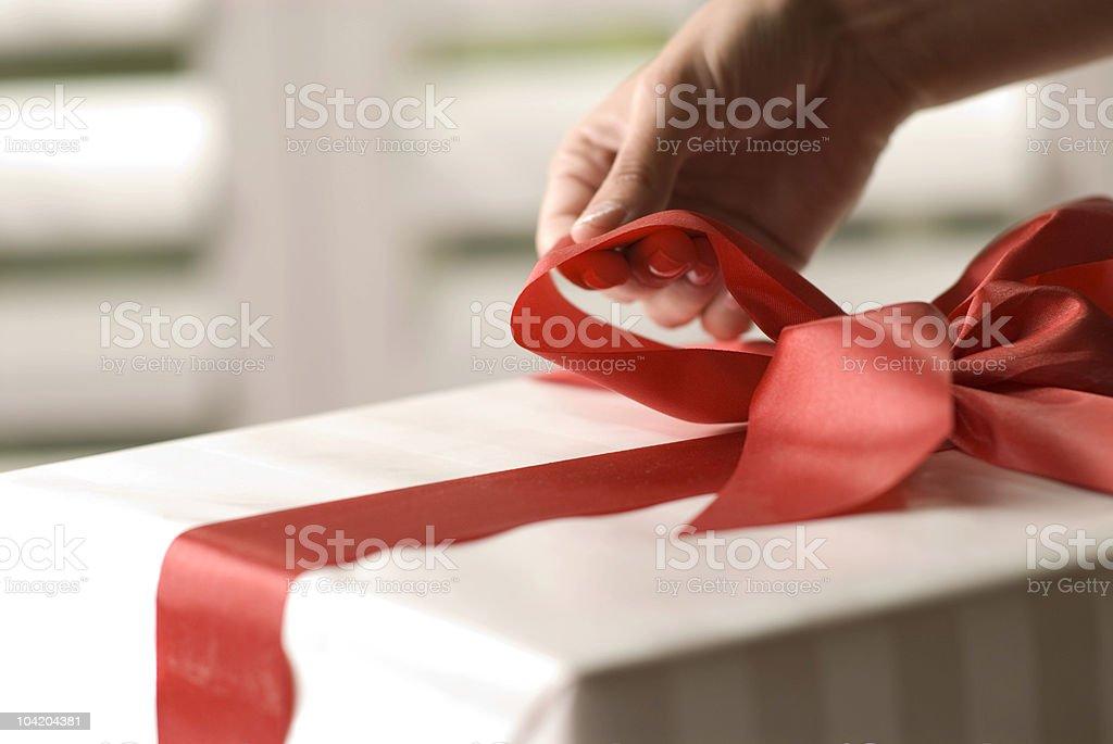 Gift Wrap stock photo