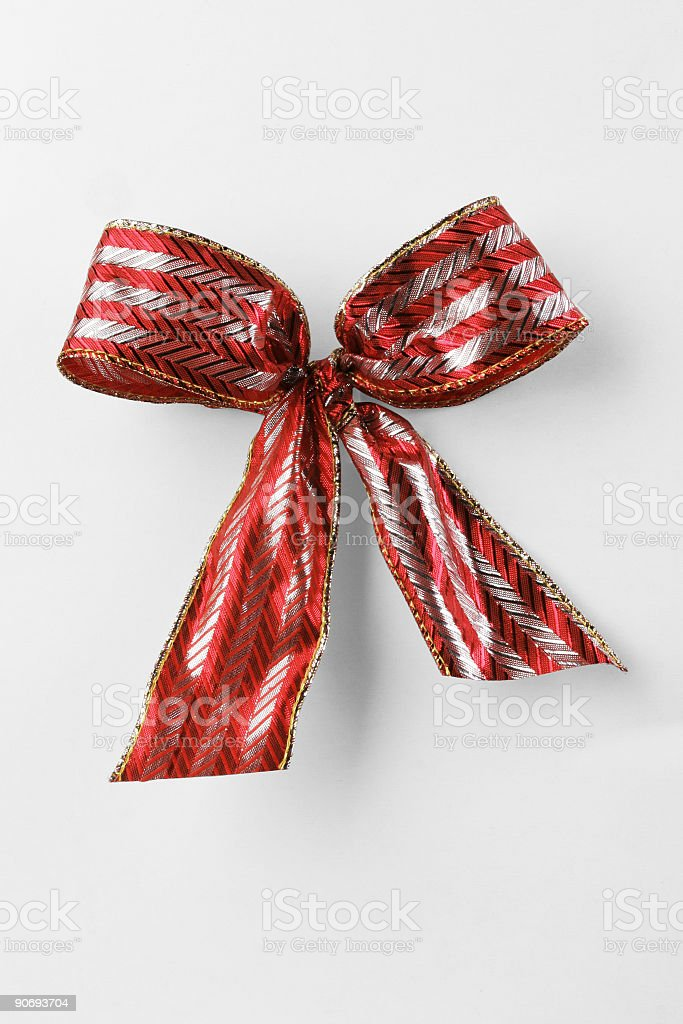 Gift Wrap with PATH stock photo