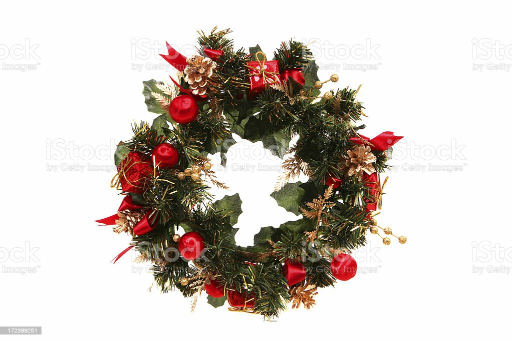 Gift Wreath royalty-free stock photo