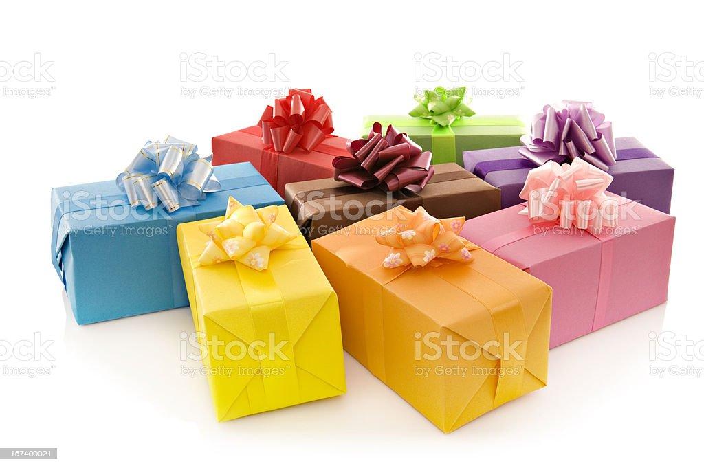 Giftboxes royalty-free stock photo