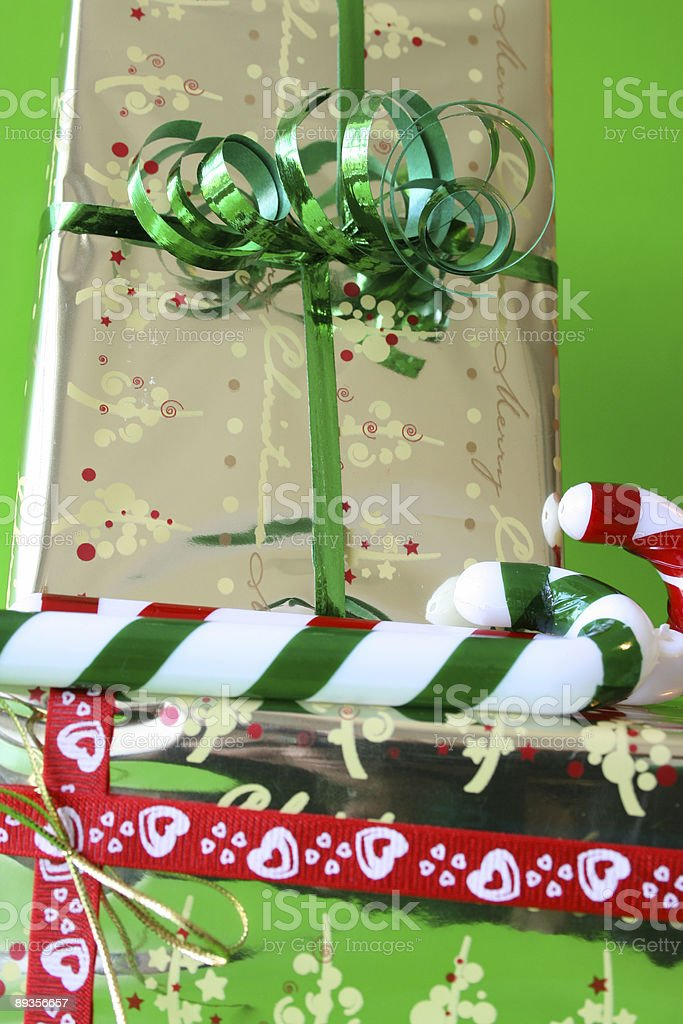 Gifts and Candy royalty-free stock photo