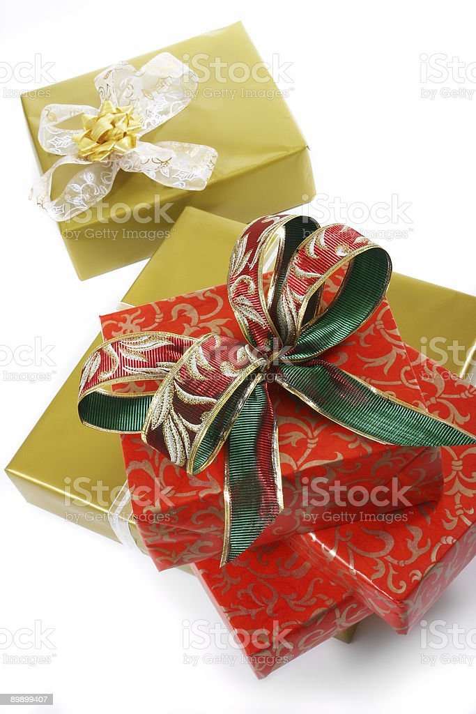gifts boxes stock photo