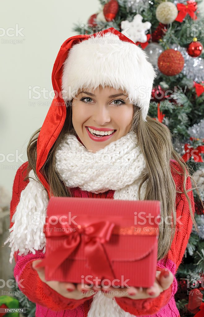 gifts day royalty-free stock photo
